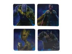 Чашка Paladone Marvel - Avengers Infinity War Lenticular Coasters (PP4406MVIW)