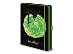 Блокнот Pyramid International Rick and Morty - Portals Premium Notebook