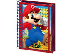 Блокнот Pyramid International Super Mario - Mario 3D Notebook