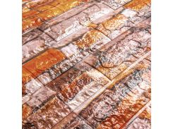 3D Панель для стен: цветной кирпич (разные цвета) Песчаник