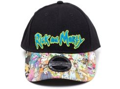Кепка Difuzed Rick and Morty - Sublimated Print Curved Bill Cap