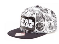 Кепка Difuzed Star Wars - Comic Style Snapback with Metal Plate Logo