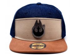 Кепка Difuzed Star Wars - Han Solo Millenium Falcon Metal Badge Snapback