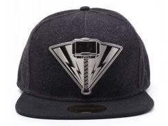 Кепка Difuzed Thor Ragnarok - Thor Metal Badge Denim Snapback