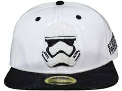Кепка Difuzed Star Wars - White Snapback With Storm Trooper Embroidery And Black Bill
