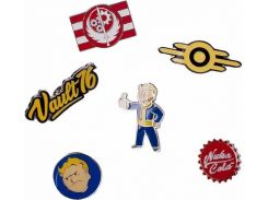 Значок Difuzed Fallout 76 - Set of 6 Metal Pins