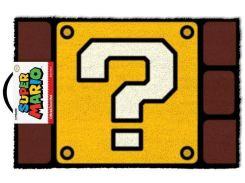 Напольный коврик Pyramid International Super Mario Doormat - Question Mark Block