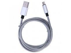 Кабель Micro USB Spring AR 72 в Металлической Оплетке