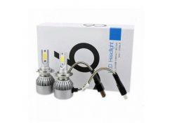 LED лампы светодиодные для фар автомобиля c6 h7