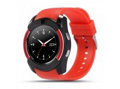 Умные смарт часы Smart Watch V8 Red
