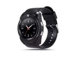 Умные смарт часы Smart Watch V8 Black