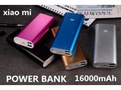Power Bank Xiaomi портативная зарядка 16000mah Реплика