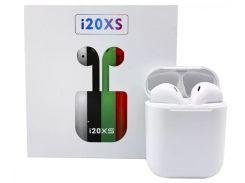 Беспроводные наушники AirPods i20xs TWS цвет белый, наушники Bluetooth 5.0, Блютуз гарнитура, реплика