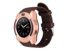 Умные смарт часы Smart Watch V8 Gold