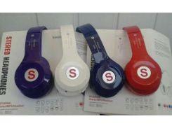 Bluetooth наушники S460S Синий