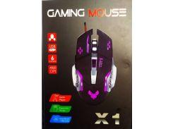Мышь игровая оптическая  с подсветкой X1 GAMING DARK KNIGHT