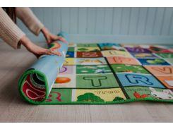 3D Коврики в детскую, тканевые, экологически чистые и безопасные  (двухсторонний) Развивающий3 1.8m*1.5*10mm