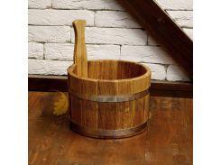 Ковш для бани Fassbinder™ дубовый, 5 литров
