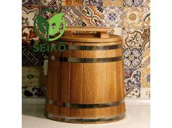 Кадка дубовая для солений Seikō™, 40 литров