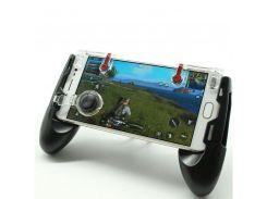 Беспроводной геймпад триггер для смартфонов Union PUBG Mobile 5in1 Black