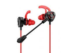 Наушники USAMS PUBG Mobile EP-27 Gaming Black-Red