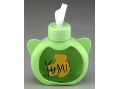 Бутылка Nice on sweet Yumi зеленая