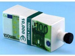 Пачка 100 ЕВРО - графин штоф 0,5 л. (пачка денег MSE)