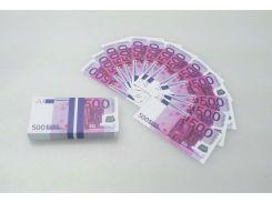 Пачка 500 евро мини «конфетти» ( прикольные деньги )