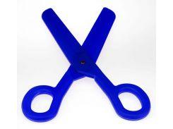 Ножницы - гигант синие ( гигантские ножницы прикол )