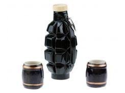Подарочный набор 33 wishes граната Ф1/ лимонка, 3 предмета (KE37)