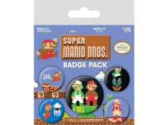 Значок Pyramid International Badge Pack: Super Mario Bros