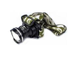 Налобный фонарь BL POLICE 6807 30000W Q5 фонарик 500 Lumen