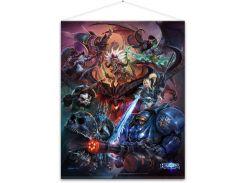 Постер Gaya Heroes of the Storm Wallscroll - Heroes