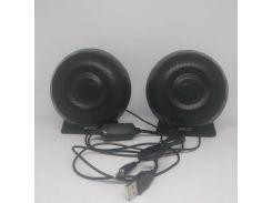 Компьютерные деревянные колонки акустика Enco BL-A11 Чёрные