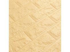 Декоративные панели для стен цвет бежевый (самоклейка) 5мм