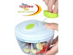 Универсальный измельчитель овощей Speedy Chopper чоппер Белый