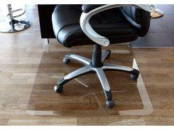 Защитный коврик под офисное кресло Tip-Top™ 0,8мм 1000*1250мм прозрачный (прямые края)