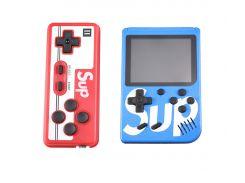 Sundy Портативная игровая ретро приставка с джойстиком 400 игр Dendy денди SEGA 8bit SUP Game Box синий