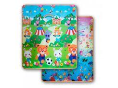 3D Коврики в детскую, термо, экологически чистые и безопасные  (двухсторонний) скручивающие 1.8m*2.0*5mm Аквариум-Футбол