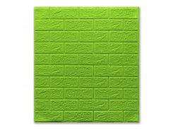 Декоративные панели для стен (самоклейка) зеленый (5мм)