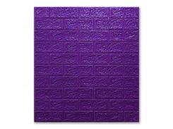 Декоративные панели для стен цвет (самоклейка) фиолетовый 5мм