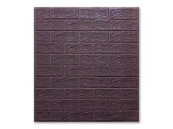 Декоративные панели для стен цвет (самоклейка) кофе 5мм