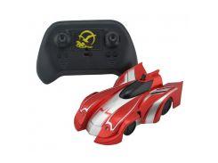 Радиоуправляемая игрушка CLIMBER WALL RACER Антигравитационная машинка Красная