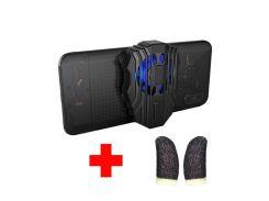 Универсальный кулер-вентилятор для смартфона с аккумулятором Sandy Union PUBG Mobile F01