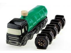 Подарочный набор Спиртовоз авто цистерна, 6 предметов