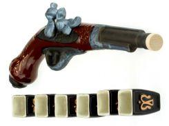 Подарочный набор Пистоль ( мушкет ) 7 предметов
