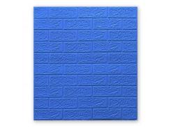 Декоративные панели для стен (самоклейка) (5мм) Синий