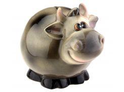 Корова ET Мурка серая копилка (SG242) Символ года 2021 год быка