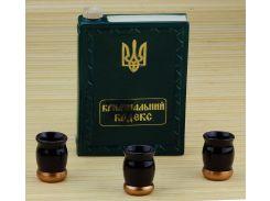 Подарочный набор 33 wishes Книга криминальный кодекс 4 предмета (KE34A)