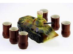 Подарочный набор 33 wishes БТР танк 7 предметов (KE52)